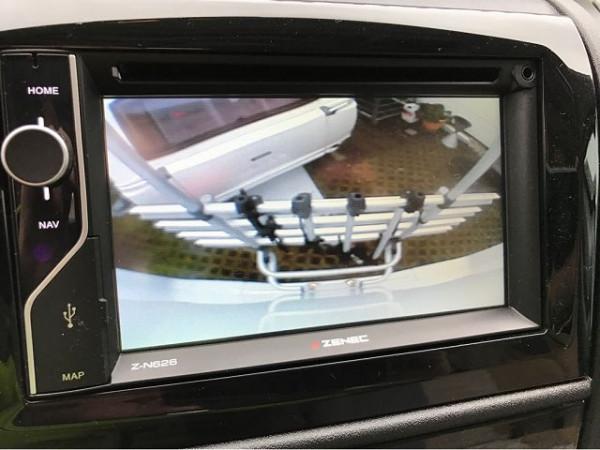 Rear view camera single