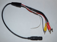 Adapter cable for reversing camera